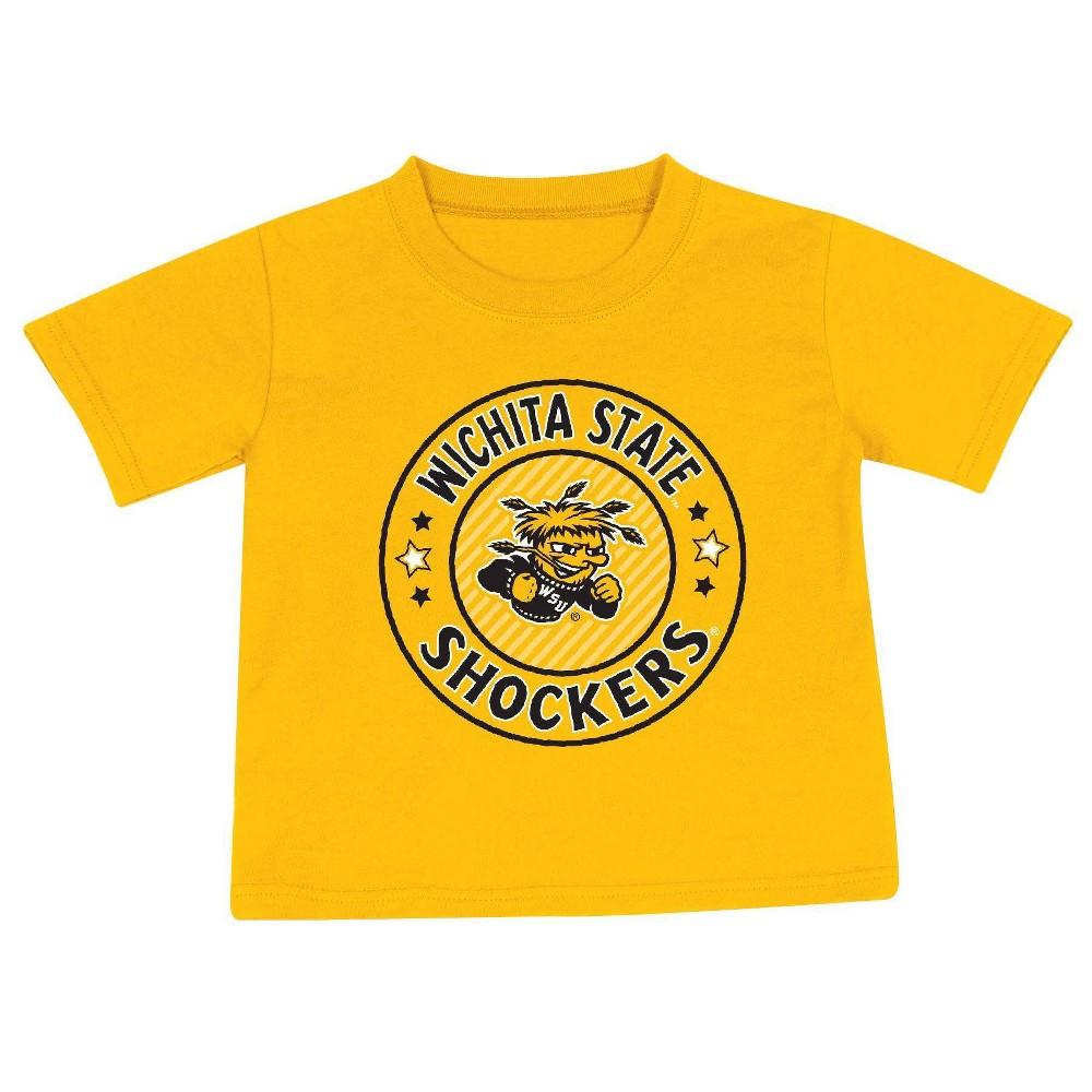 Ncaa Wichita State Shockers Toddler Boys 39 2pk Short Sleeve T Shirt 4t