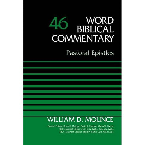 Pastoral Epistles, Volume 46 - (Word Biblical Commentary) by  Zondervan (Hardcover) - image 1 of 1