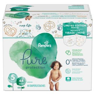 Pampers Pure Protection Size 5 Disposable Diapers - Size 5 (44ct)