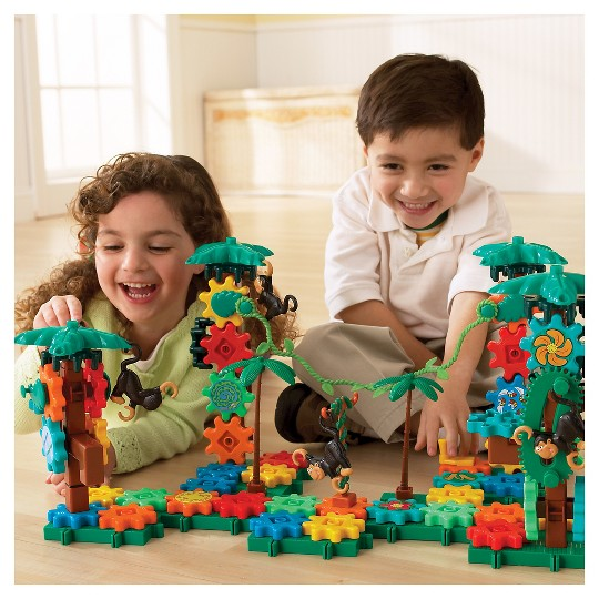 Learning Resources Gears! Movin' Monkeys image number null