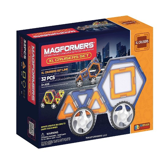 Magformers XL Cruisers Car Set image number null