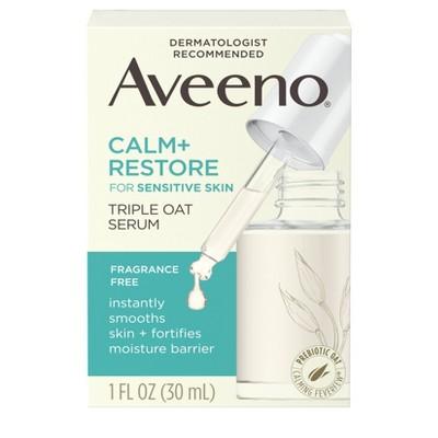 Aveeno Calm and Restore Triple Oat Serum - 1 fl oz