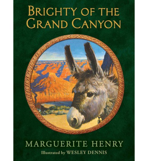 Brighty of the Grand Canyon (Reissue) (Hardcover) (Marguerite Henry) - image 1 of 1