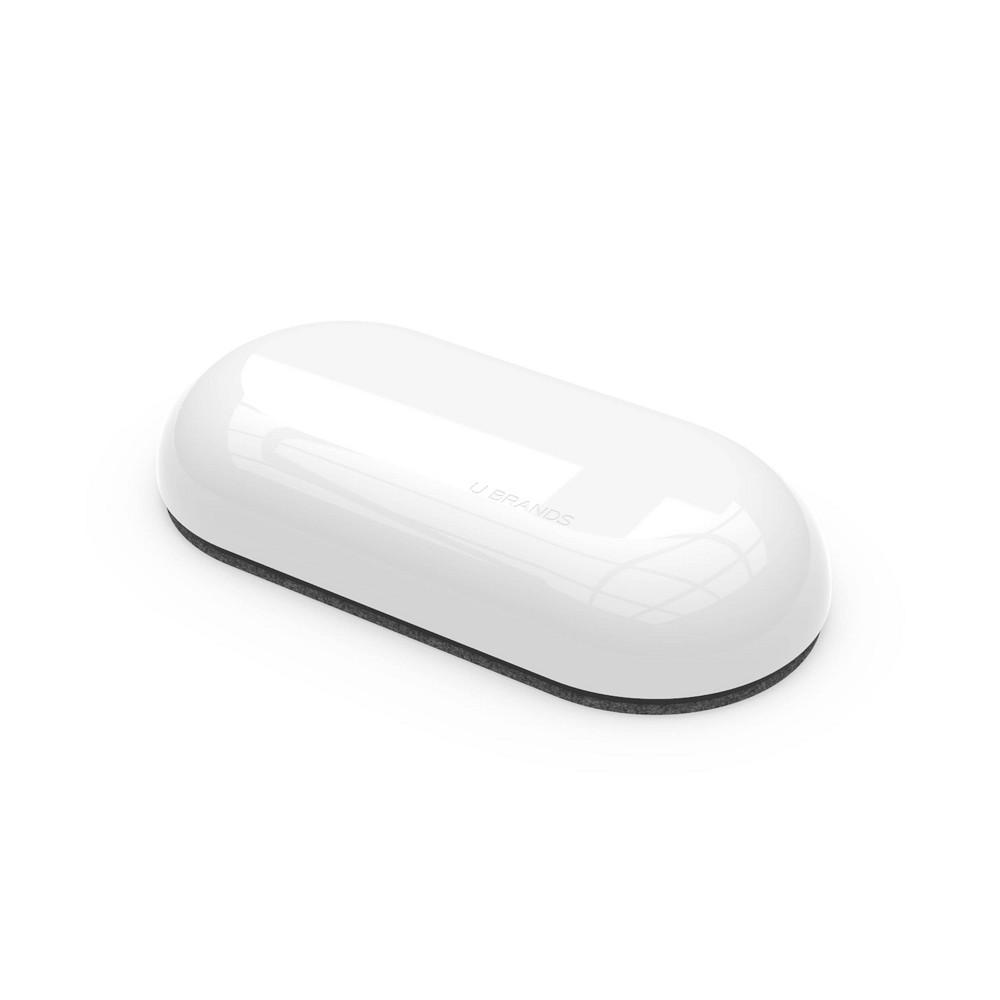 U Brands Magnetic Board Eraser White