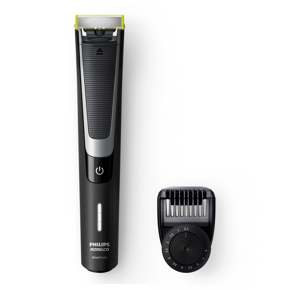 Image of Philips Norelco OneBlade Pro Rechargeable Men's Electric Shaver/Trimmer - QP6510/70
