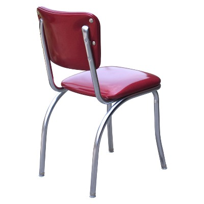 Diner Chair   Set Of 2 (Red) : Target