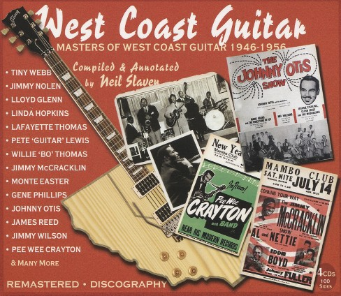 Various - West coast guitar:Masters of west coa (CD) - image 1 of 1
