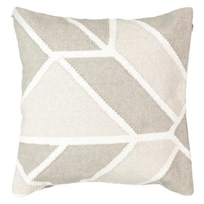 Tan Geo Social Call Throw Pillow (18x18 )- Beautyrest®