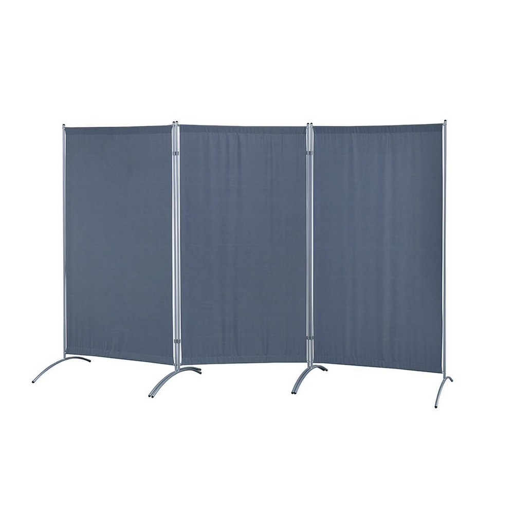 Image of Galaxy Indoor Room Divider Gray - Proman Products