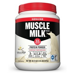 Muscle Milk Lean Muscle Protein Powder - Vanilla Crème - 1.93lb