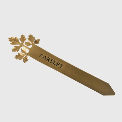 "9.4"" Herb Marker Parsley Gold - Smith & Hawken™ - image 1 of 3"