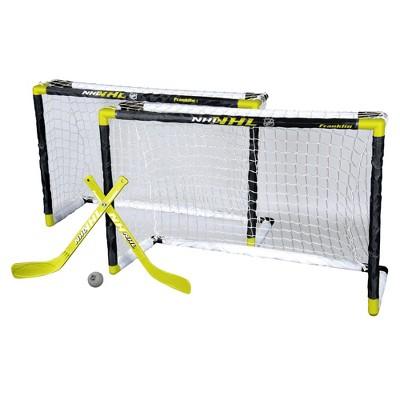 Franklin Sports NHL Two Goals Mini Hockey - 5pc