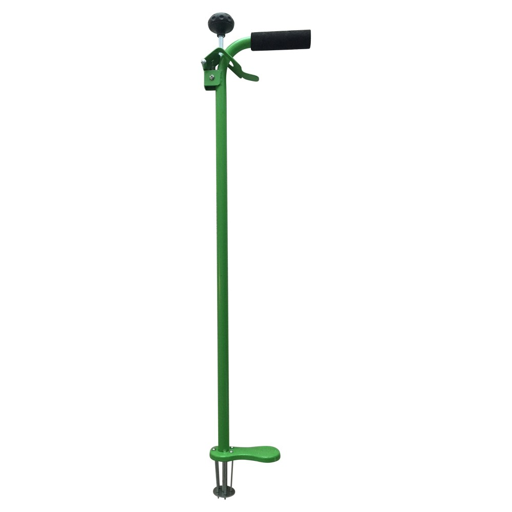 Stand-Up Weeding Tool With Spring Release - New Lime - Weed Zinger
