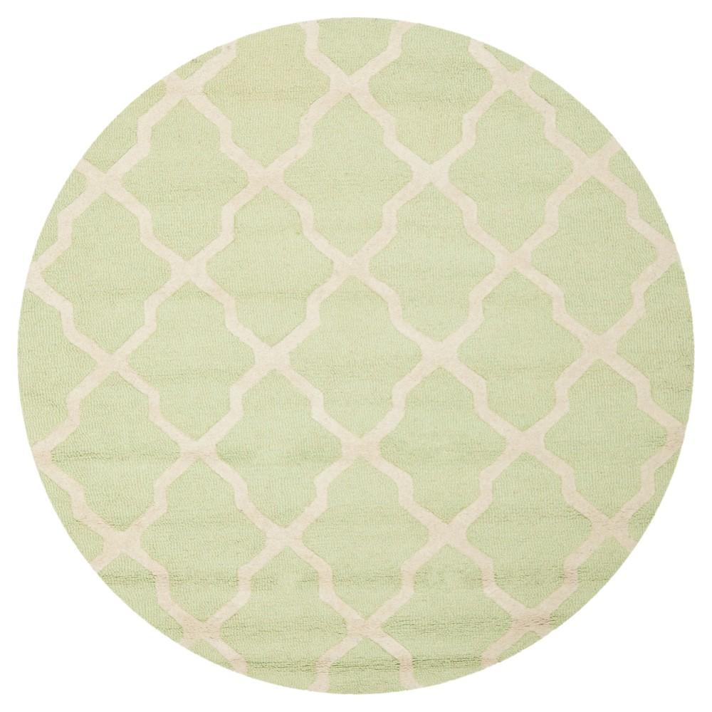 Maison Textured Rug - Light Green / Ivory (6'X6') - Safavieh, Light Green/Ivory