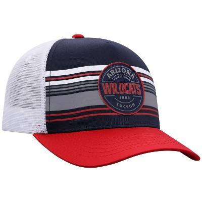 NCAA Arizona Wildcats Men's Vista Black with Hard Mesh Snapback Hat