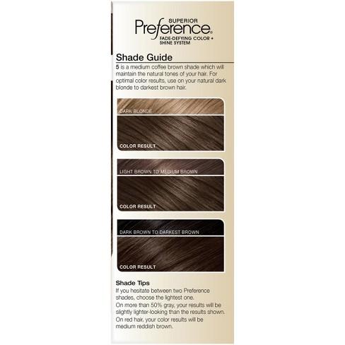 Loreal Paris Superior Preference Permanent Hair Color Medium Rose