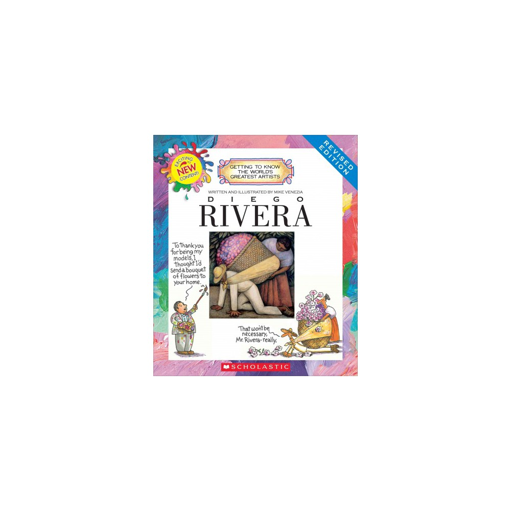Diego Rivera (Revised) (Library) (Mike Venezia)