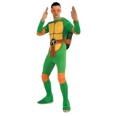 Adult Teenage Mutant Ninja Turtles Michelangelo Standard Halloween Costume One Size