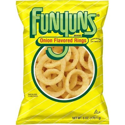 Funyuns Onion Flavored Rings - 6oz