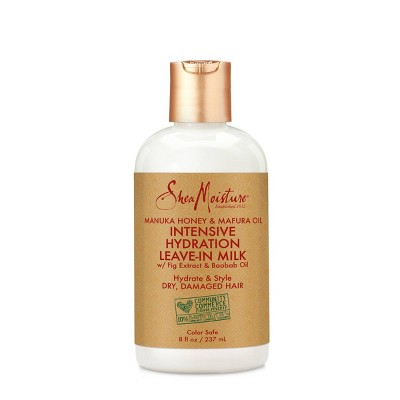 SheaMoisture Manuka Honey & Mafura Oil Intensive Hydration Leave-In Milk - 8 fl oz