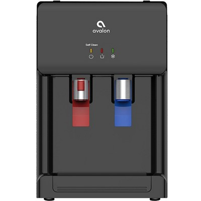 Avalon Countertop Self Cleaning Water Cooler and Dispenser - Black