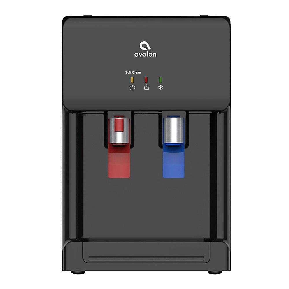 Avalon Countertop Self Cleaning Water Cooler and Dispenser – Black 54249621