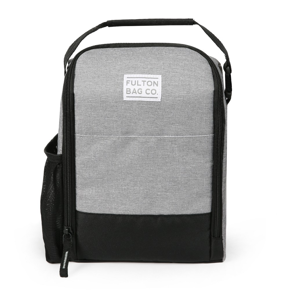 Image of Fulton Bag Co. Lunch Bag - Gray