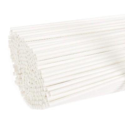 Juvale Lollipop Sticks – 300 Count 6 inch Paper Sucker Sticks, Treat Sticks for Cake Pops, Candy Melt