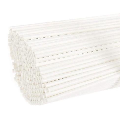 Juvale Lollipop Sticks – 300 Count 6 inch Paper Sucker Sticks, Treat Sticks for Cake Pops, Candy Melt - image 1 of 3