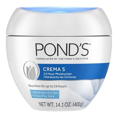 Pond's Crema S 24H Moisturizing Cream - 14.1oz - image 1 of 4