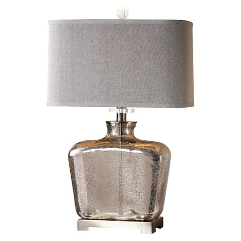 Uttermost Molinara Mercury Glass Table Lamp Mercury Target