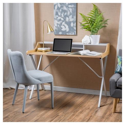 White Wood Computer Desk Small Student Desks