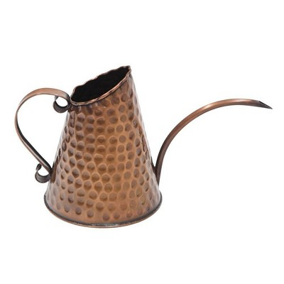 """12"""" Dainty Hammered Watering Can Copper Finish - ACHLA Designs"""