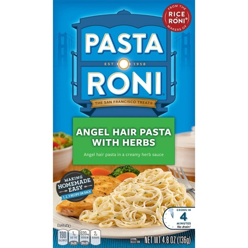 Pasta Ron I Angel Hair Pasta With Herbs 4 8oz Target