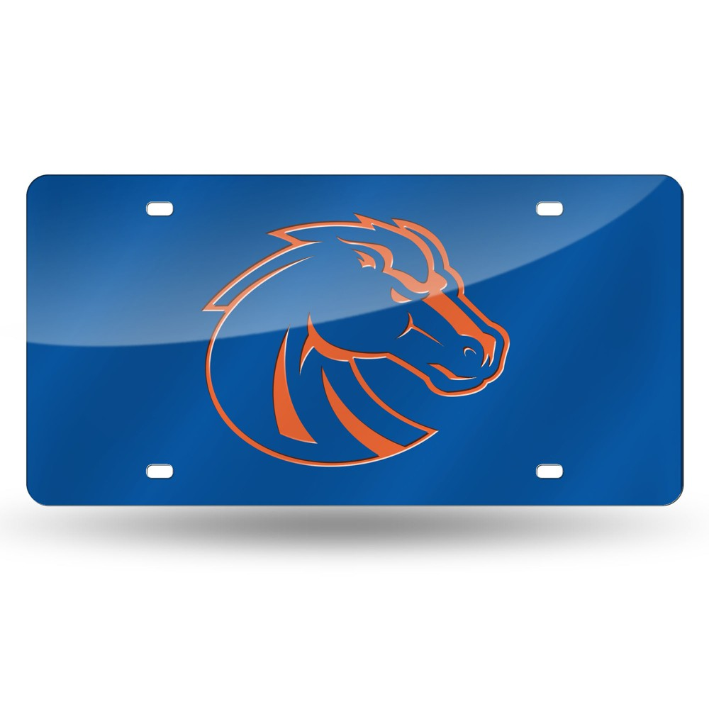 Boise State Broncos Rico Industries Laser Cut Auto Tag