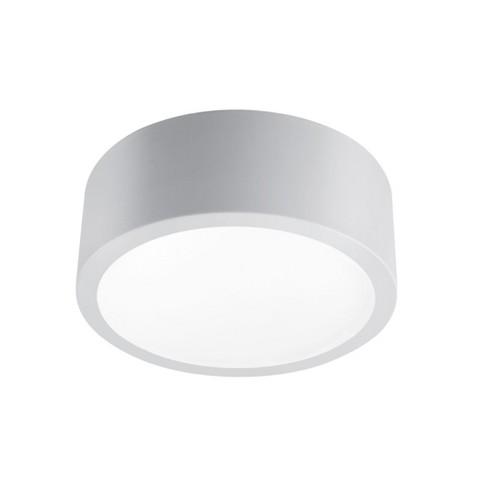 "Globe Electric 13095 Edinberg Single Light 11"" Wide Integrated LED Flush Mount Drum Ceiling Fixture - image 1 of 4"