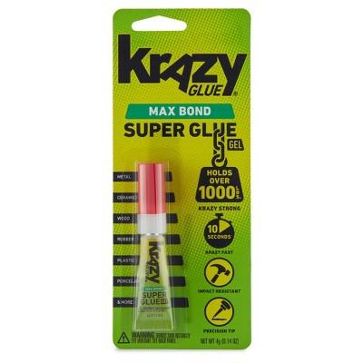 Krazy Glue Maximum Bond Gel Precision Tip Super Glue 4g
