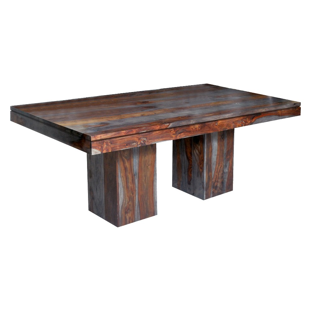 Christopher Knight Home Grayson Sheesham Dining Table Brown/Gray