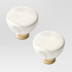 Faux Marble Knob - Threshold™
