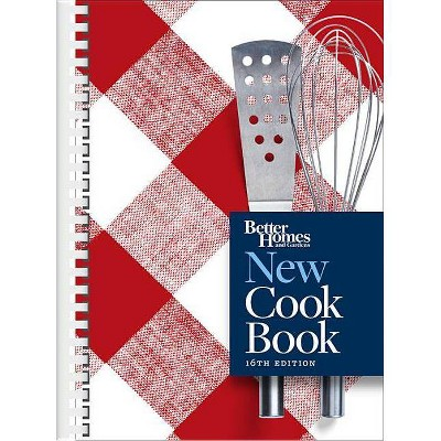 Better Homes and Gardens New Cook Book, 16th Edition - (Spiral_bound)