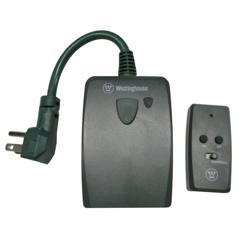 Westinghouse 2 Outlet Outdoor Remote Control Green