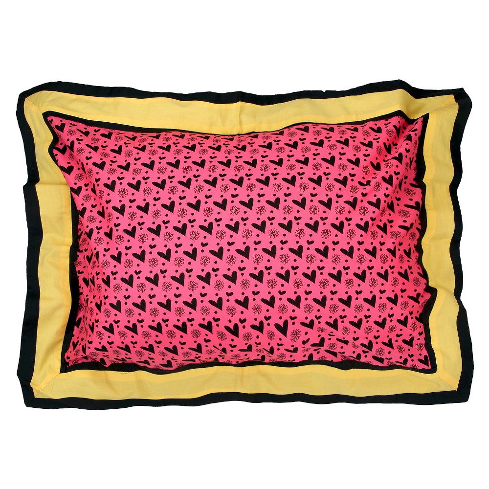 One Grace Place Sassy Shaylee Pillow Sham (Standard)