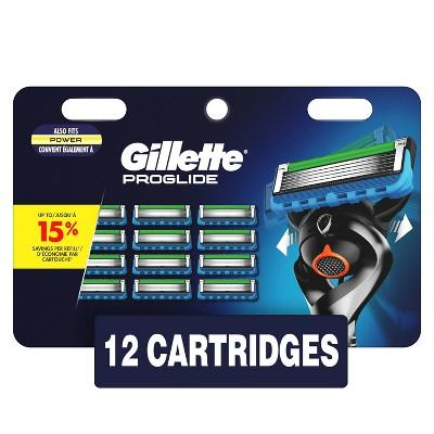 Gillette ProGlide Men's Razor Blade Refills - 12ct