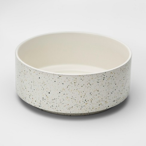 Decorative Bowl Speckled White Project 62