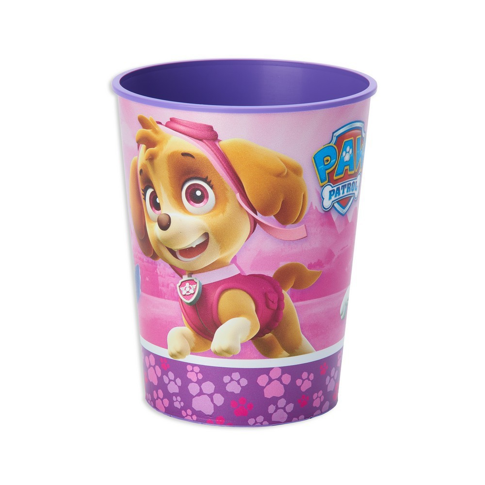 Image of 12ct PAW Patrol Pink Plastic Party Cups
