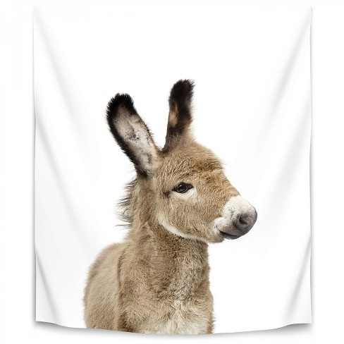 Little Donkey By Sisi And Seb Wall Tapestry Target