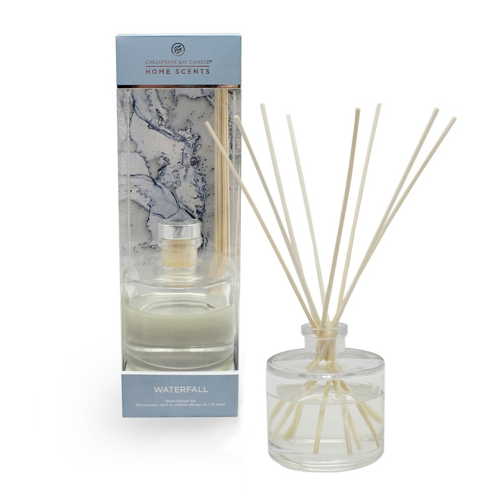 4.5oz Oil Diffuser Waterfall - Home Scents By Chesapeake Bay Candle, Blue