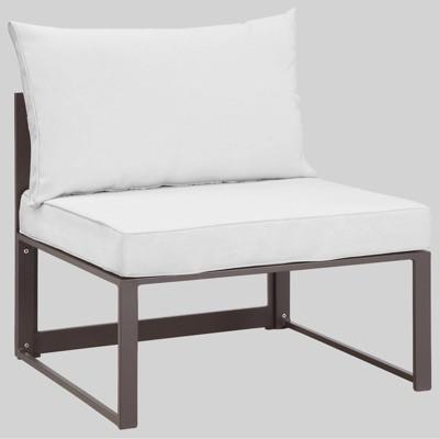 Fortuna Armless Outdoor Patio Sofa - Modway