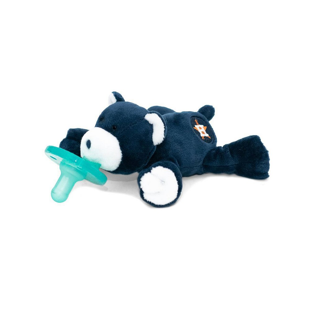 Image of WubbaNub Pacifier - Astros Bear