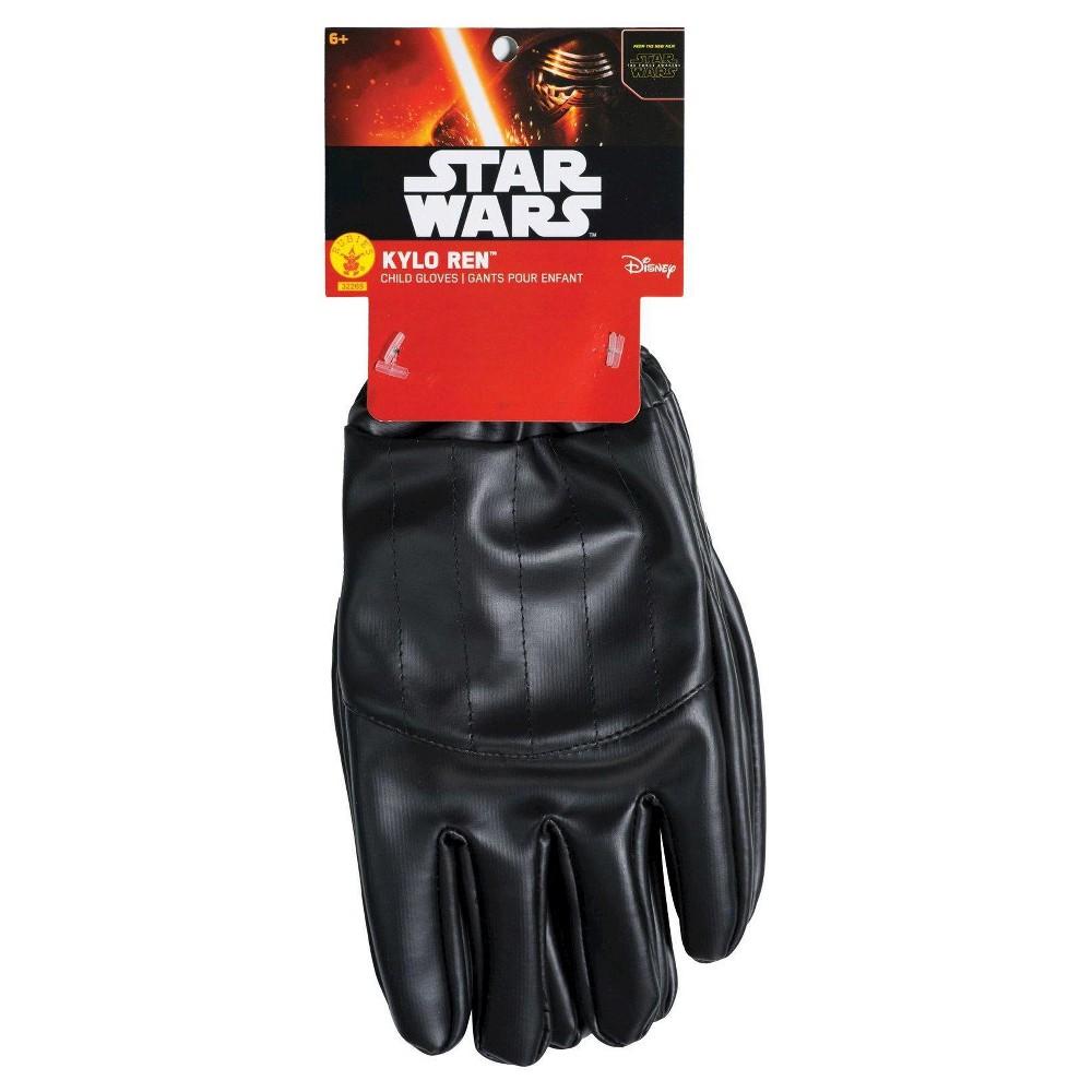Star Wars: Kylo Ren Boys' Gloves, Black